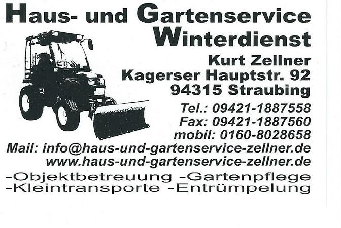 Haus- und Gartenservice Kurt Zellner - Straubing - Impressum ...